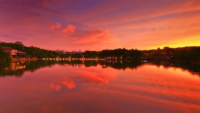 新竹 攝影 私房 景點 分享:夕陽倒影 青草湖 | DIGIPHOTO-用鏡頭享受生命