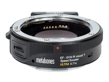 讓動態錄影視角更直覺 - Metabones EF-RF Speed Booster ULTRA 0.71×轉接環