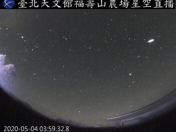 夏季第一場壯觀的流星雨 - 寶瓶座η流星雨預計將在5月6日凌晨達到高峰!!