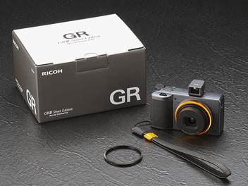RICOH GRⅢ Street Edition 街頭限定版套組發售,建議售價約NT$ 36,000