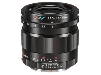福倫達歷史上最好的標準鏡頭 - Voigtländer APO-LANTHAR 50mm F2.0,建議售價NT$ 32,000