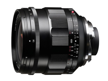 Voigtlander NOKTON 21mm F1.4 Aspherical for VM-mount 上市,建議售價 NT$ 38,000