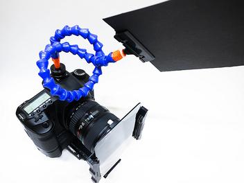 攝影周邊 DIY: 自製 遮光 軟管怪手,替你省下2400元