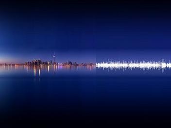 當音樂變成照片,充滿詩意的自然聲波攝影作品