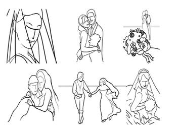 婚紗 人像 攝影 入門:21個 婚攝 經典 POSE 參考方案