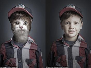 超特別 寵物 肖像創作,15組和主人的另類留念