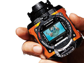 Ricoh WG-M1 誕生,冒險系 運動 輕便型 三防 相機
