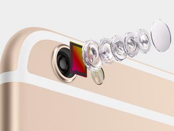 蘋果 iPhone 6 / iPhone 6 Plus 登場:Focus Pixels 感光元件、光學防手震,新款 iSight 相機規格解析