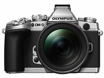 Olympus E-M1 銀色款式亮相與2.0韌體更新