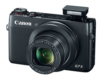 Canon PowerShot G7 X 發表,跟進1吋感光元件、採用觸控螢幕