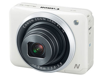 Canon PowerShot N2 ,方塊相機 自拍 力大躍進!