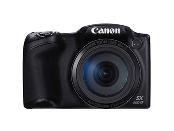 Canon PowerShot SX400 IS輕巧型高變焦數位相機,高達30倍光學變焦