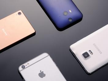 王者旗艦對決:iPhone 6、iPhone 6 Plus、Butterfly 2、Xperia Z3、Note 4