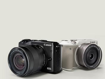 Canon EOS M3發表:準玩家外型訴求,對焦更快還可以玩自拍