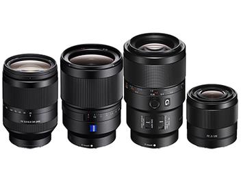 Sony FE 四鏡 齊發:24-240mm F3.5-6.3、28mm F2、35mm F1.4、90mm F2.8 Macro