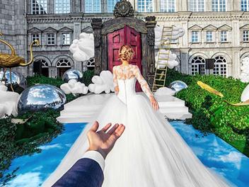 神秘女人帶我環遊世界最終章!?他們終於結婚啦!