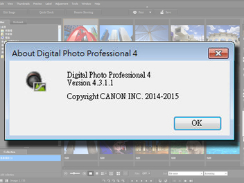 DPP最新版本發佈!Canon Digital Photo Professional 4.3.1.1釋出!!
