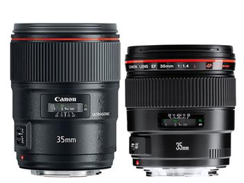 Canon新舊35mm f/1.4L II外觀及關鍵規格比較