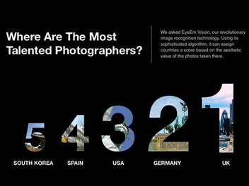 EyeEm發佈2015年度攝影趨勢報告