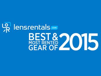 LensRentals公佈2015年最受歡迎攝影器材排行榜