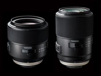 TAMRON SP 85mm F1.8與SP 90mm F2.8 Macro正式發佈!!