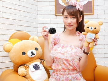 Canon 推出限量拉拉熊優惠,購買 EOS M10 即送特別版玩偶
