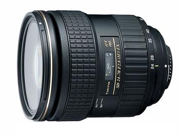 DxOMark公佈Tokina AT-X 24-70mm F2.8 Pro FX測試成績