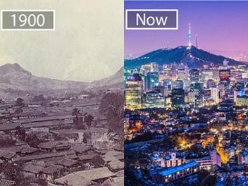前世與今生,照片對比展現全世界各個城市的變化