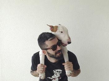 牛頭梗狗狗和主人的療癒歡樂照,絕對讓你會心一笑