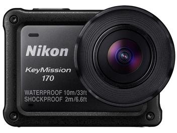 【Photokina 2016】Nikon發佈KeyMission 170與80運動相機