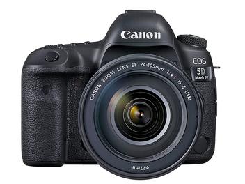 Canon EOS 5D Mark IV +EF 24-105mm f/4L IS II USM套組價格正式發佈!