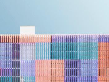 德國攝影師Kevin Krautgartners的極簡主義建築攝影
