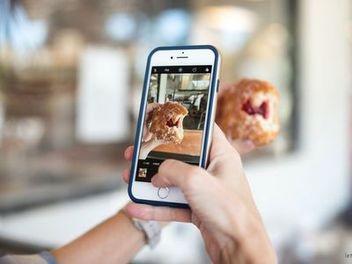 怎樣用手機拍出撩人的美食照?