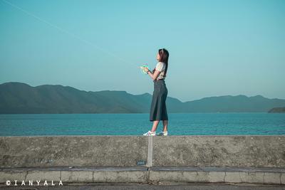 船灣淡水湖:風箏