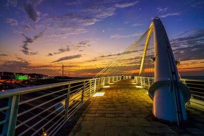 夕陽的旋律-豎琴橋