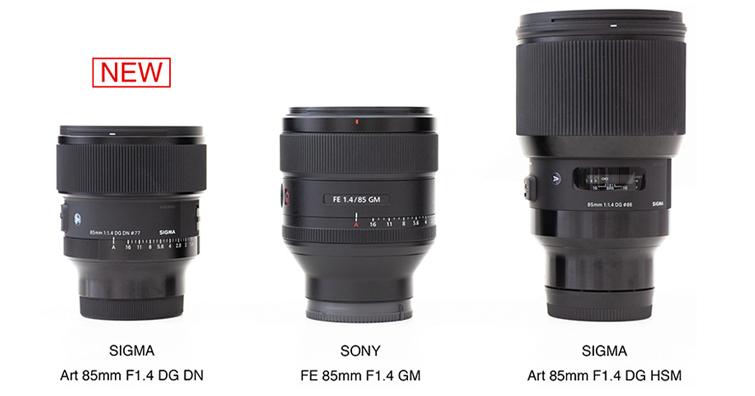SIGMA 85mm F1.4 DG DN | Art 今天上市,建議售價NT$ 31,000