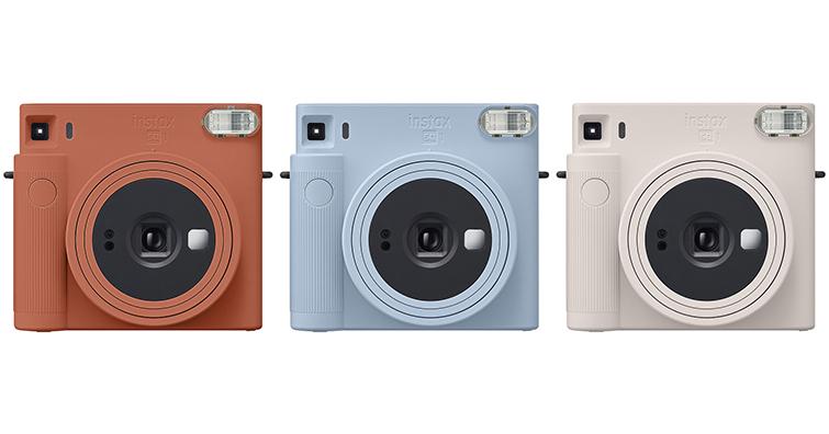 純色.更時尚!富士發布全新馬上看相機 instax SQUARE SQ1