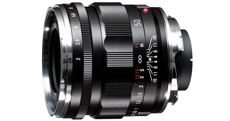 Voigtlander APO-LANTHAR 50mm F2 Aspherical VM發佈,建議售價NT$ 32,000