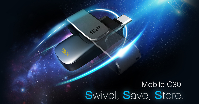跨界串連 延伸無限,SP廣穎電通推出3款Type-C隨身碟-Mobile C20.C21.C30
