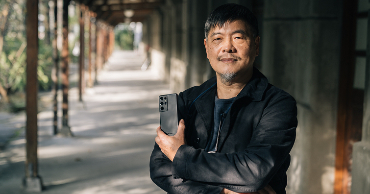 Samsung Galaxy S21 Ultra 5G╳表演藝術攝影家劉振祥:它是我最佳的日常創作夥伴