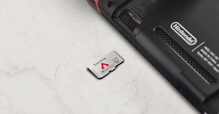 Western Digital推出《Apex英雄》專屬任天堂Switch新記憶卡