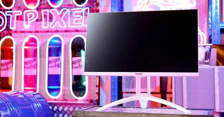 粉紅新勢力:助你渡過最佳情人節的AOC AG273FXR Agon 顯示器