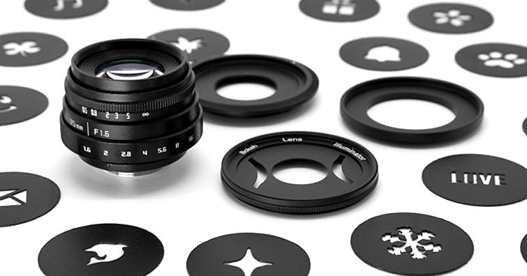 讓影像延伸更多樂趣,GIZMON Bokeh Lens Illuminator散景效果套組發售