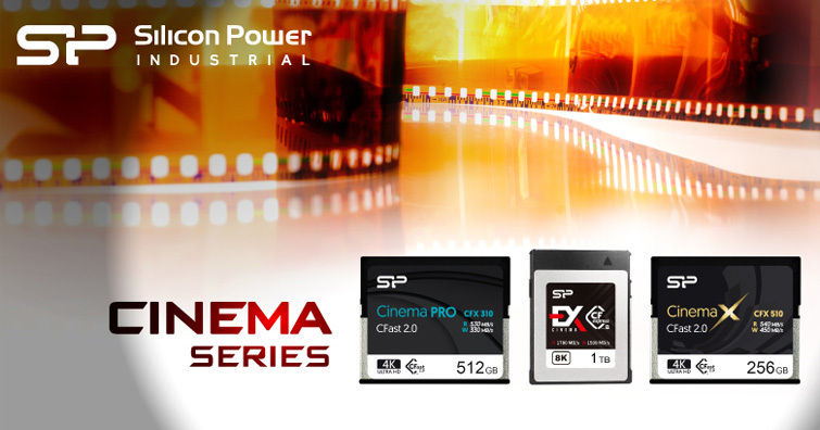 職人必備!SP廣穎發佈CFast 2.0、CFxpress 2.0高速記憶卡,可全面支援4K/8K高畫質影片錄製