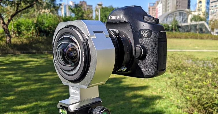 全景大圖拼接必備-老蛙FF S 15mm F4.5 W-Dreamer專用支架轉接環試用報告
