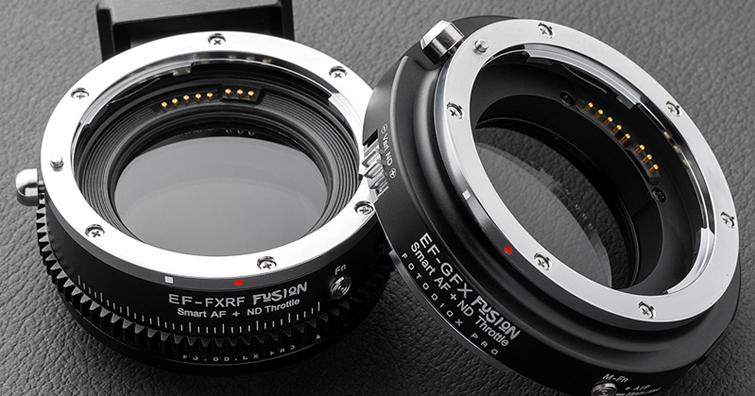 焦點工房 Fotodiox EF→GFX / X轉接環發售,內置有可調式ND減光鏡