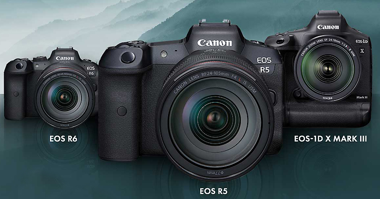 Canon EOS R5 ∕  R6  ∕ EOS-1D X Mark Ⅲ 最新韌體釋出, 趕快幫你的愛機升級新功能吧!