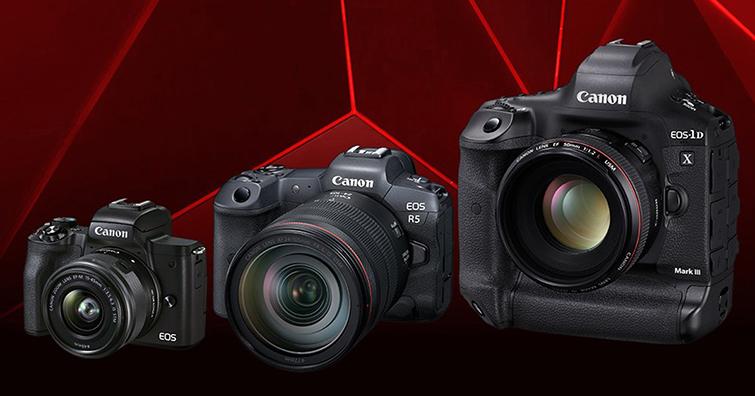 Canon可交換式鏡頭數位相機(DILC) 連續十八年蟬聯全球市佔第一