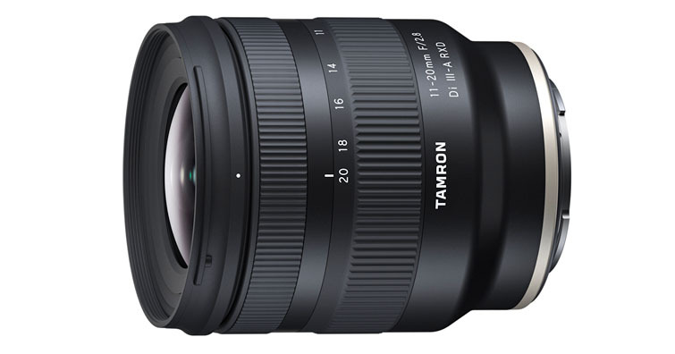 Sony APS-C片幅限定,TAMRON 11-20mm F2.8 DiIII-A RXD(B060)超廣角變焦鏡頭發佈