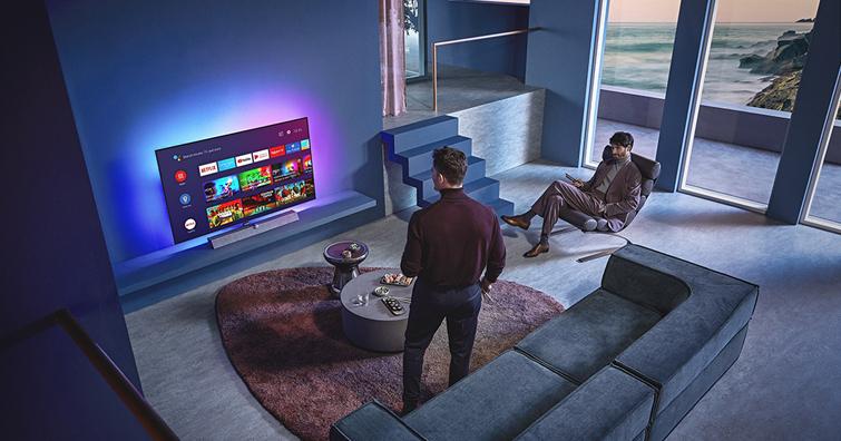 Philips全新OLED 935大型顯示器炫彩登場,打造極致感官氛圍享受